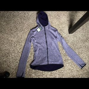 Nike thermal zip-up sweatshirt/jacket